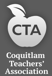 Coquitlam Teachers Association Retina Logo